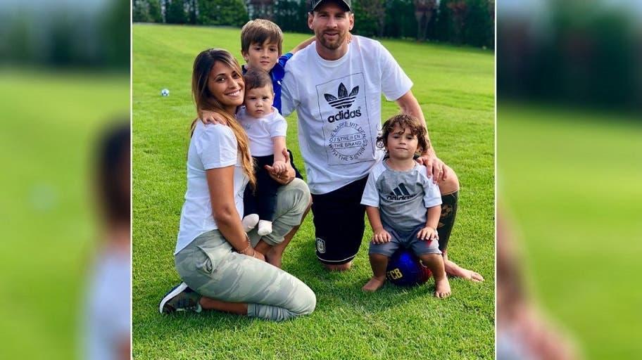 Mateo Messi se robó todas las miradas luego de un blooper