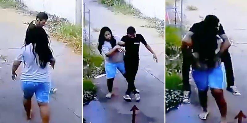 Su marido llegó borracho a casa y así reaccionó ella