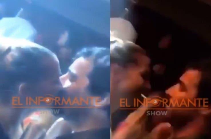 ¡Romance explosivo! Nacho Viale y Soledad Fandiño, a los besos