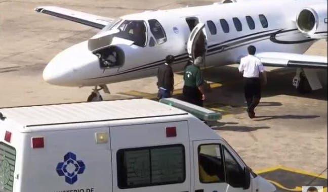 Piden avión sanitario para un argentino infartado — Chile
