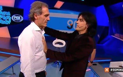 Tusam hipnotizó a Oscar Ruggeri en vivo — Increíble