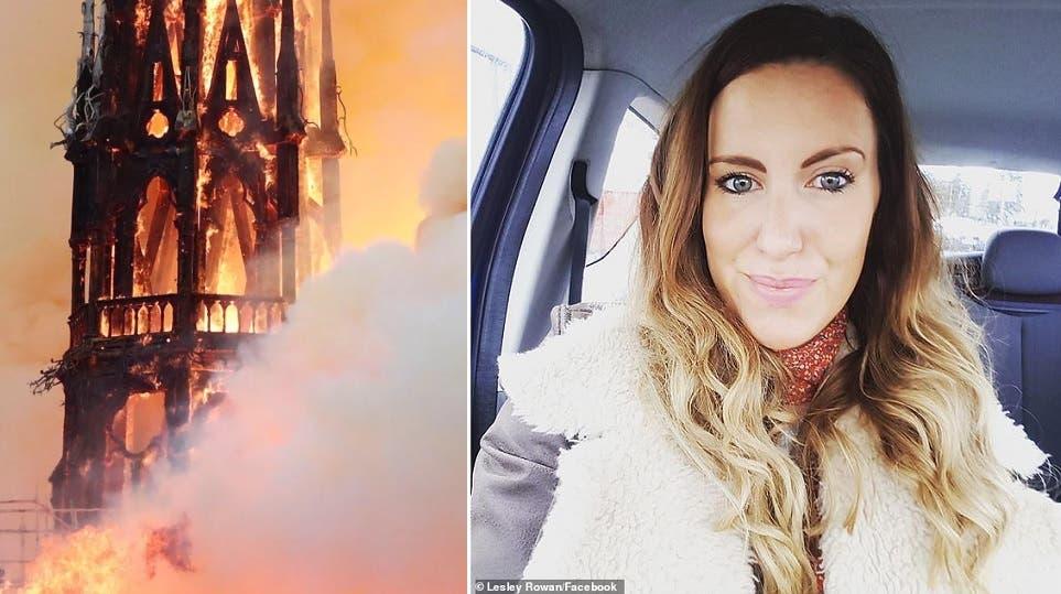 Notre Dame: aseguran que Jesús apareció entre las llamas - Mundo