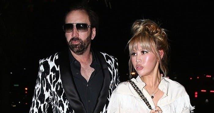 La esposa de 4 días de Nicolas Cage le pide manutención