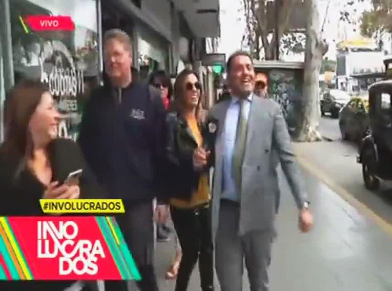Mariano Iúdica casi se agarra a las trompadas en la calle