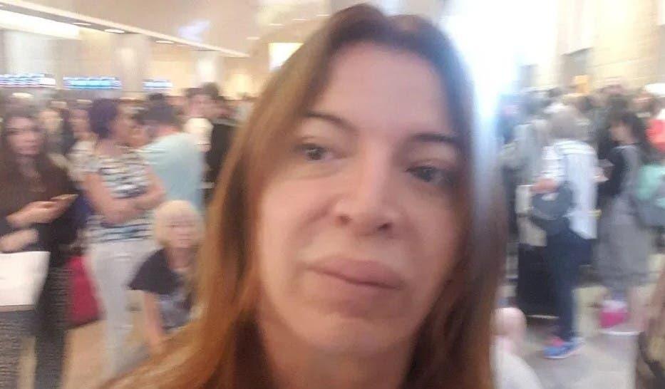El mal momento que pasó Lizy Tagliani en el aeropuerto de Israel