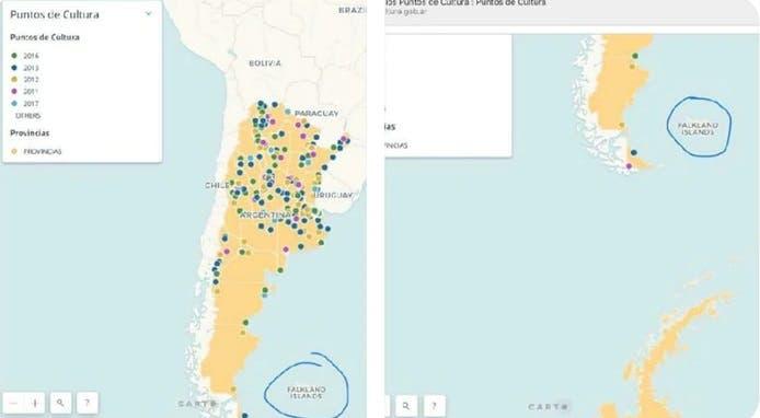 El Gobierno le puso Falkland a las Islas Malvinas — Cipayos