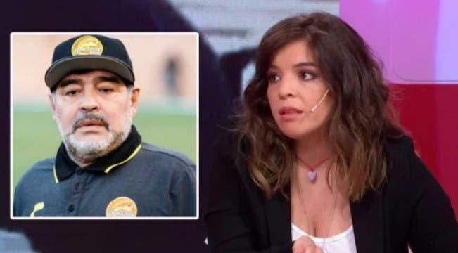 Qué tiene que pasar para que Maradona conozca a su nieta