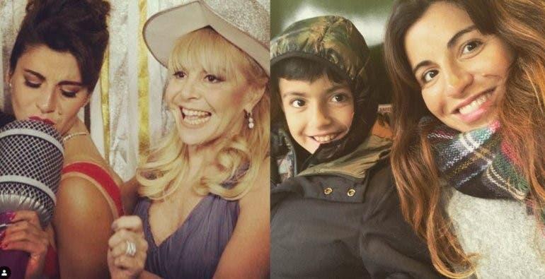 Gianinna Maradona comparó a Diego con un famoso cantante español