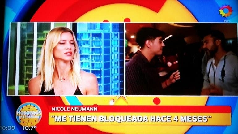 Nicole Neumann confesó que Fabián Cubero la bloqueó del WhatsApp