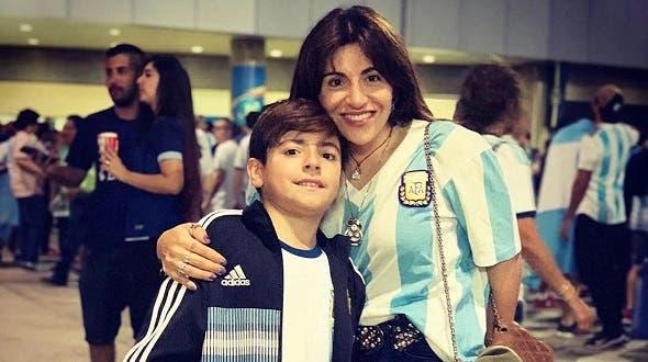 Gianinna Maradona habló del disgusto que vivió durante el partido Brasil-Argentina