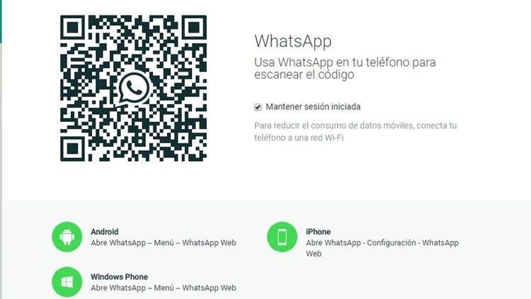 Con el código QR podrán secuestrar tu cuenta de WhatsApp