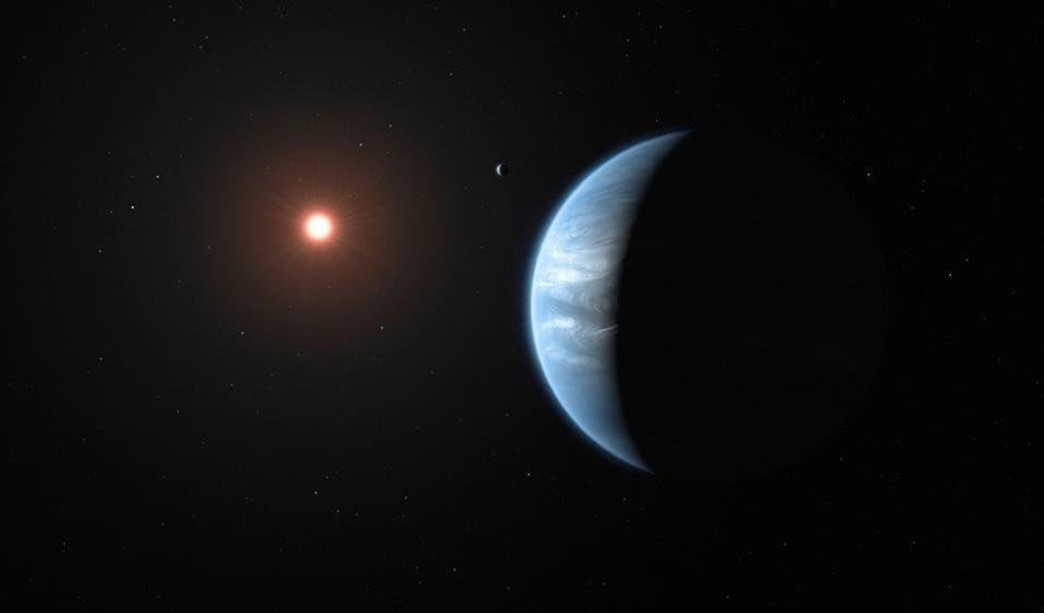 Agua encontrada por primera vez en un planeta potencialmente habitable