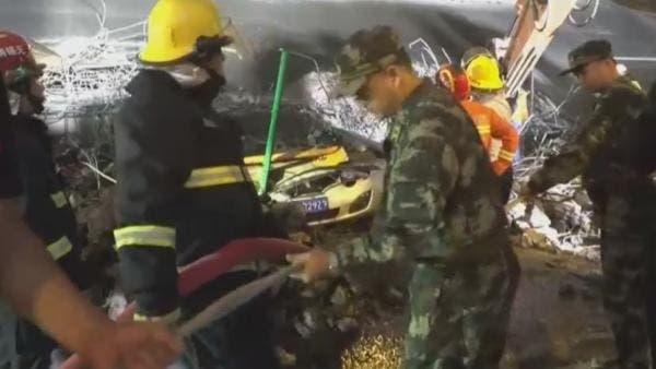 Tres muertos en el desplome de un puente en China