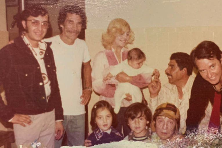 Nieto de 'Don Ramón' publica imagen inédita de 'El Chavo del 8'