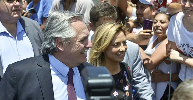 La distendida mañana de Alberto Fernández antes de asumir como presidente