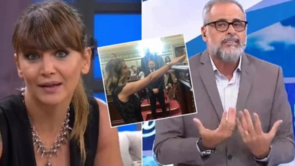 Amalia Granata fulminó a Jorge Rial por compararla con Hitler