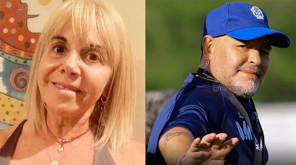 Claudia Villafañe recordó el día que Maradona estuvo en coma