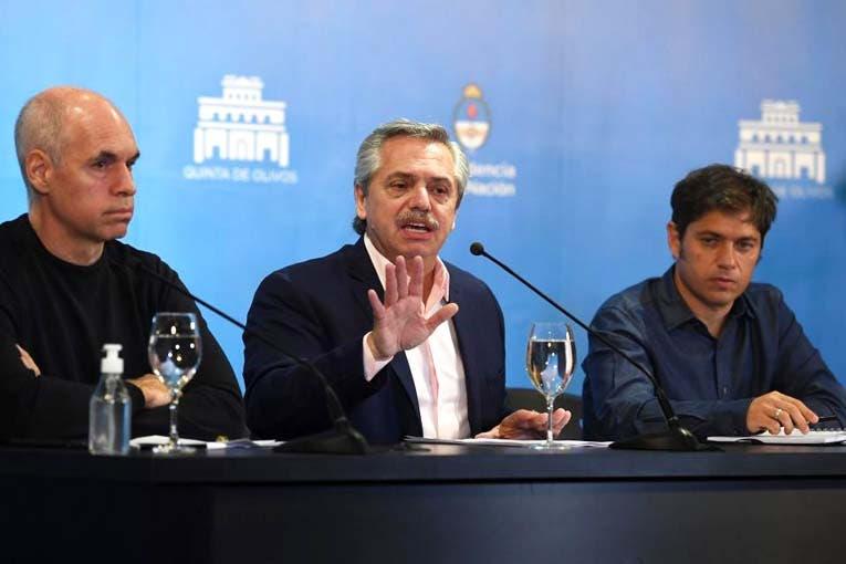 Kicillof confirmó que el Gobierno analiza extender la cuarentena
