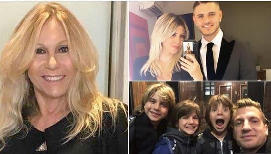 Maxi López estalló contra Wanda por regresar con sus hijos a Italia