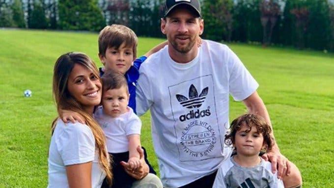El tierno entrenamiento de Lionel Messi con Ciro