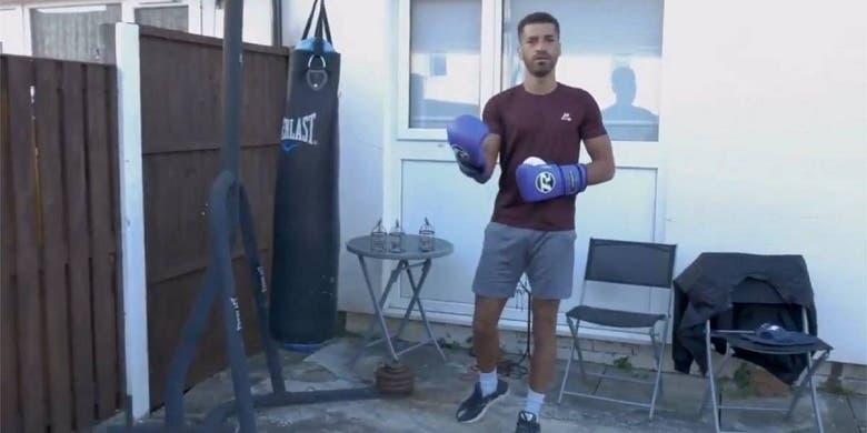 Video viral: campeón británico de boxeo daba clases por Instagram ...