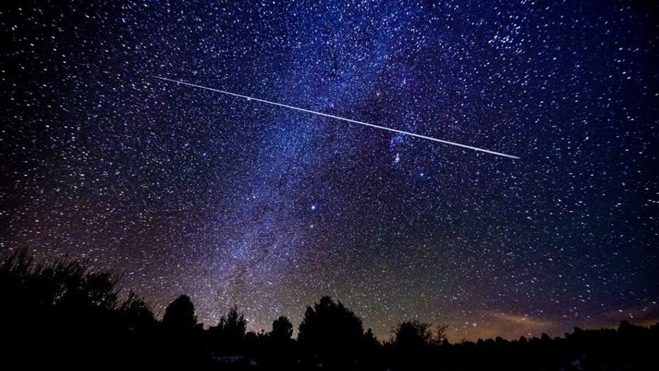 Esta noche inicia un espectáculo en el cielo: lluvia de estrellas líridas