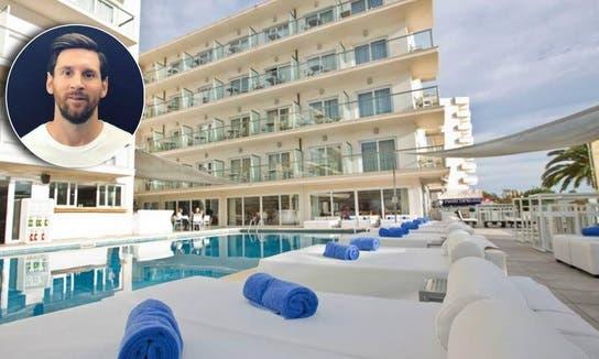 El lujoso hotel que compró Messi, remodeló y publicitó en sus redes