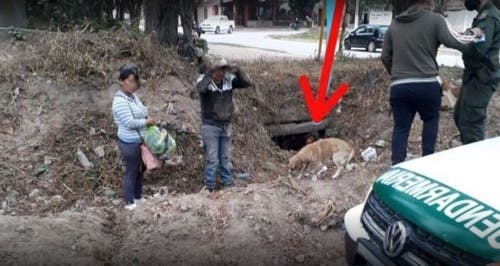 Sorprenden a ciudadanos bolivianos ingresando por desagües a la Argentina — Salvador Mazza