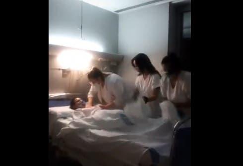 El polémico vídeo de las enfermeras del Hospital Joan XXIII de Tarragona