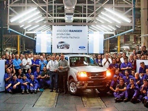 La planta de Ford en General Pacheco Buenos Aires