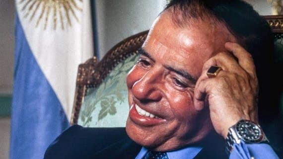 Robaron un histórico anillo de Carlos Menem