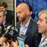 Alfaro anunció el Metrobus y viaja a reunirse con el Papa: junto a Dietrich pronosticó un triunfo de Cambiemos