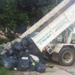 Gente buena de Tucumán: sacaron toneladas de basura de El Cadillal
