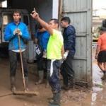 Drama en España: Rafa Nadal, la estrella que salió a ayudar a los inundados de Mallorca -videos-