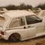 El increíble cementerio de autos carísimos que existe en Dubái