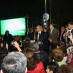El intendente Alfaro dejó habilitado el segundo sector del parque El Provincial