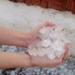 Fotos y videos de un impresionante temporal en Santiago del Estero