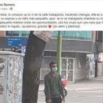 """""""Pensaba que me iba a morir en el semáforo"""": Mauro limpiaba vidrios en una esquina y consiguió su primer trabajo en blanco por una foto viral"""