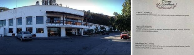 Hotel salte o compara en su carta a famosas de la for Farandula argentina de hoy