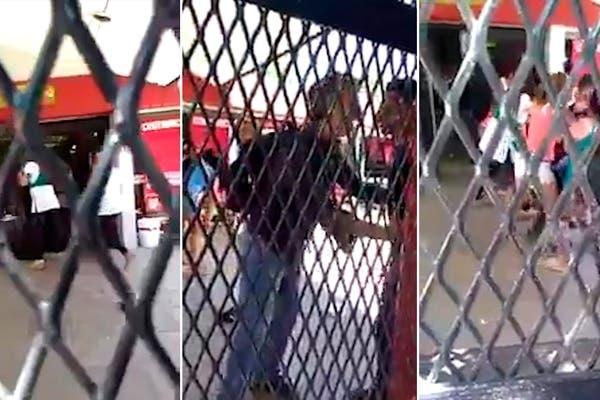 brutal ataque contra una adolescente que caminaba en